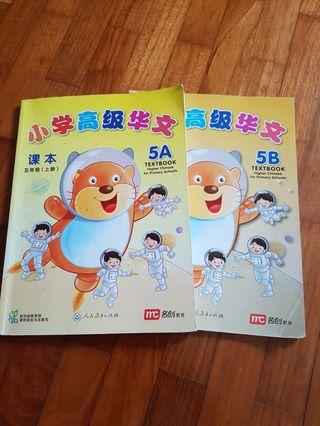 Primary 5 Higher Chinese Textbook (old syllabus)