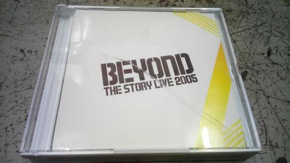 Beyond the story live 2005 3VCD