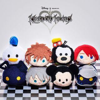 JAPAN IMPORTED / JAPAN DISNEYstore : Tsum Tsum Set Collection - Kingdom Heart Square Enix Corporation Tsum Tsum Set VERY RARE. ONE SET ONLY.