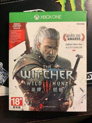 🚚 Xbox巫師3遊戲片