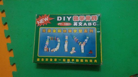 🚚 優惠🌸英文ABC教學骨牌