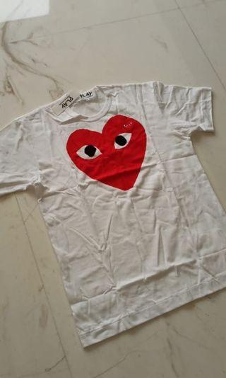 CDG play tshirt original