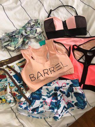 All for $20! Bikini and swimwear shorts set