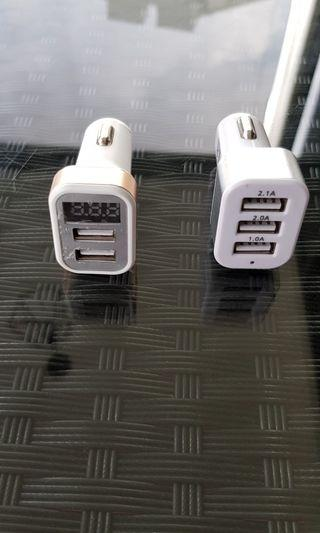 USB chargers - Both to go!