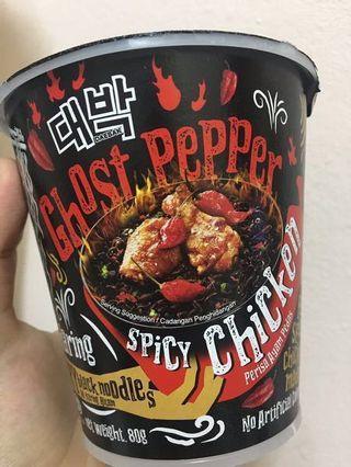 [instocks!!] daebak ghost pepper instant noodle 🌶 🌶 😡