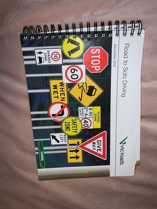 Road to solo driving book