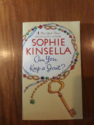 [PRE-LOVED] Can You Keep a Secret by Sophie Kinsella