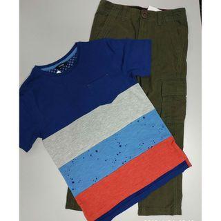 George 133547男童T恤+長褲