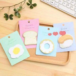 sticky notes meal series