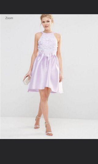 74788d9e99de NWOT Lilac Chi Chi London Evening ROM Prom Dress UK 10