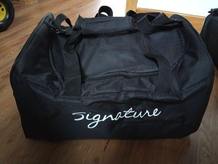 🚚 Picnic bag with waterproof heat or cold reserve silver lining