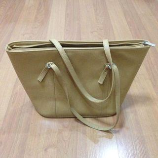 New:Imported cream tote bag