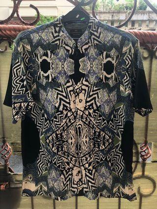Kemeja (Baju koko) Corak Batik