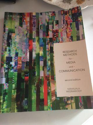 🚚 Research Methods for Media and Communication