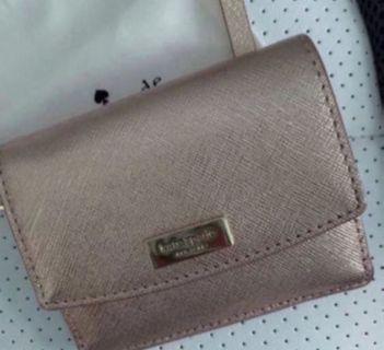 BNIB Kate Spade Laurel Way Wallet Rose Gold