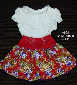 H&M romper with skirt