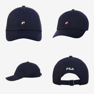🚚 全新 Fila 韓國 小標 小logo 老帽 帽子 鴨舌帽 棒球帽