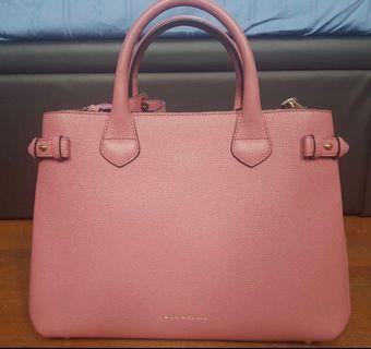 WTS BURBERRY HANDBAG PINK  brand new condition AUTHENTIC