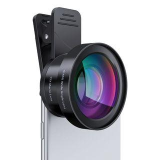 🚚 AUKEY 2-in-1 Wide Angle and Macro Lens for Smartphone