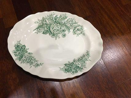 Vintage oval platter J&G Meakin 12 inches