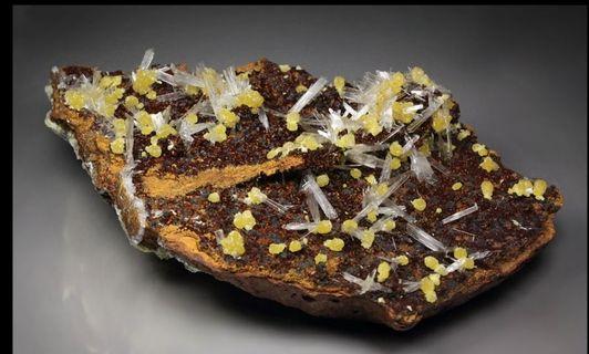 Minerals Mimetite Hemimorphite #ENDGAMEyourEXCESS