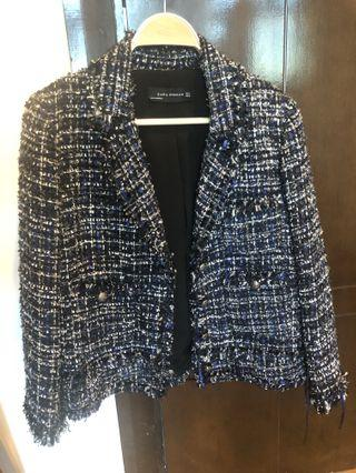 Zara tweed jacket