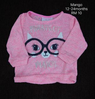 Baby knitted top