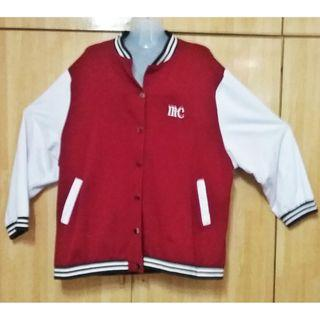 PLUS SIZE 3XL 4XL VARSITY BOMBER JACKET