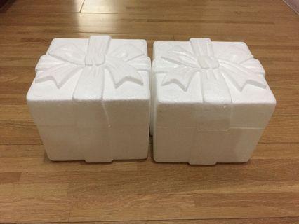 🚚 宮原眼科冰淇淋保冷盒 保麗龍保鮮盒