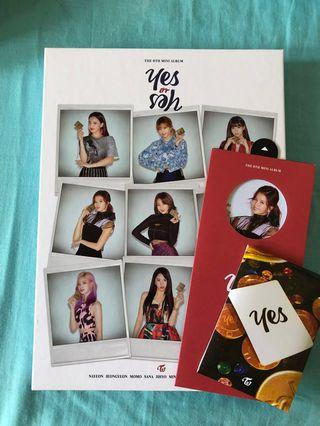 TWICE YES OR YES(VERSION B) UNSEALED ALBUM