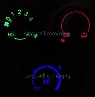 Toyota Vios AC Panel Mod