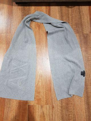 Authentic Armani Exchange knit scarf