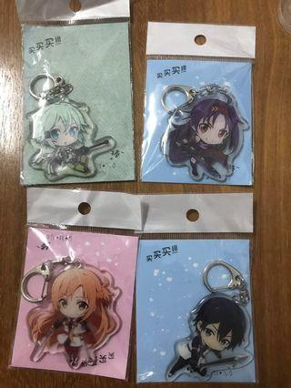 [in stock]Anime keychains