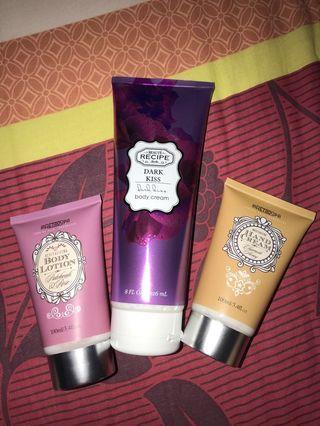 body lotion hand cream beauty recipe  & iretrospa