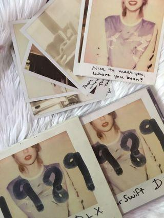 TAYLOR SWIFT DELUXE ALBUM