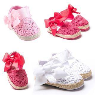 🚚 蕾絲嬰兒鞋