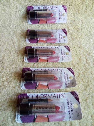 Colormates Lipstick combo