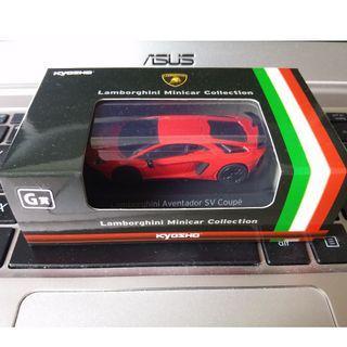 1/64京商kyosho 林寶堅尼 Lamborghini Aventador SV G賞