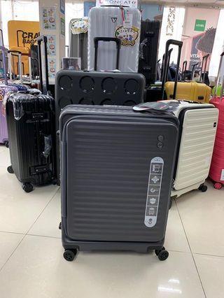 阿豪Echolac 最新款式前開蓋 28寸 大容量可擴大行李箱