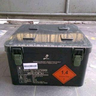 Kotak BEKAS Peluru Serba Guna Bahan Plastik ABS