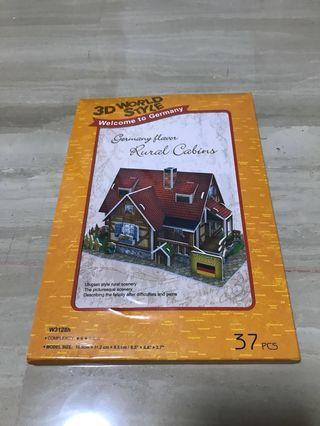 3D world style - Germany flavour - Rural cabins