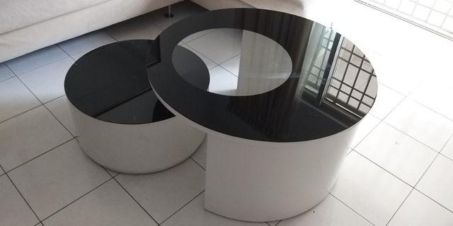 Big Round Coffee Table 2 in 1