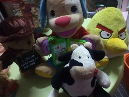 Soft Toys (set of 4)