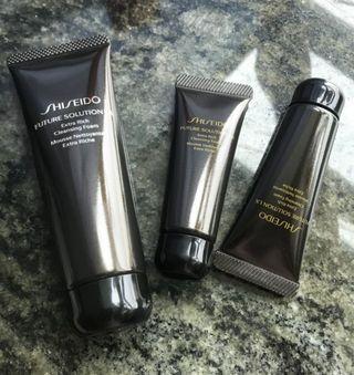 共4支 Shiseido Future Solution 洗面膏 130 ml