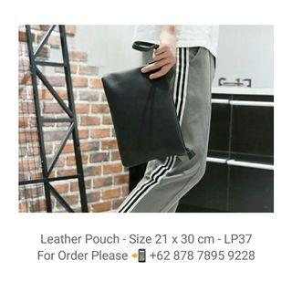 Leather Pouch - Clutch - LP36