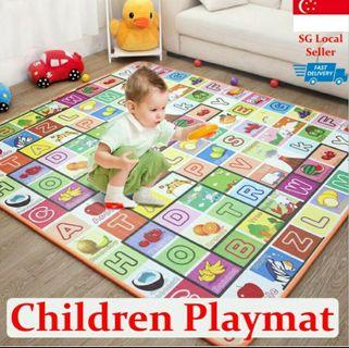 BRAND NEW! 👶 BABY DOUBLE-SIDED PLAYMAT FRUIT ALPHABETS + CASTLE FARM 2M X 1.8M X 1CM, EASY STORAGE AND ROLL UP WITHOUT CREASE LINES! HURRY WHILE STOCK LAST! GRAB BEFORE ITS GONE!