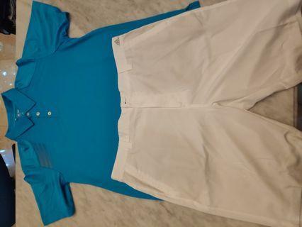 Golf - T-Shirt and Shorts