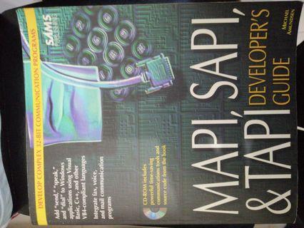 MAPI, SAPI&TAPI Developer's Guide