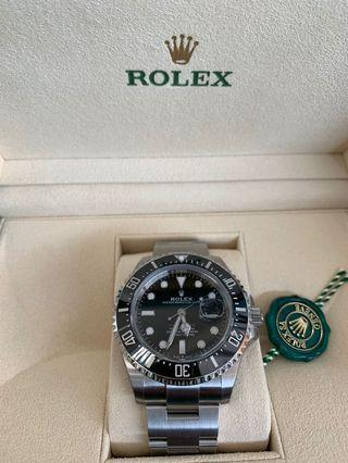 🚚 BNIB ROLEX SEA DWELLER 43mm. 50th Anniversary