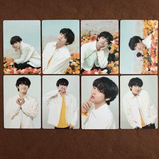bts v taehyung love yourself in japan mini photocard set